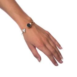 Armband Mixed Marble - Small Circle Transparent