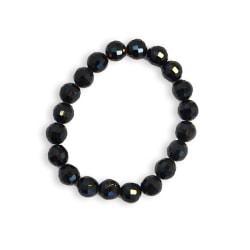 Armband Trendy Beads Black Transparent
