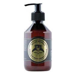 Beard Monkey Hair & Body Wash Lemongrass Rain 250ml Transparent