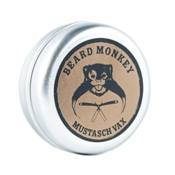 Beard Monkey Mustasch Vax 20g Silver