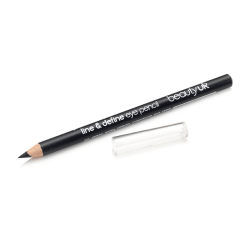 Beauty UK Line & Define Eye Pencil No.1 - Black Svart