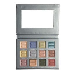 Bellapierre 12 Color Pro Jewel Eye Palette grå