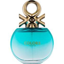 Benetton Colors For Her Blue Edt 50ml Transparent