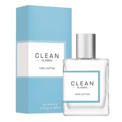 Clean Classic Cool Cotton Edp 60ml Transparent