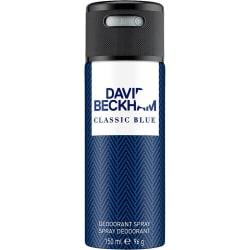 David Beckham Classic Blue Deodorant 150ml  Mörkblå