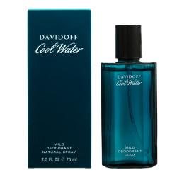 Davidoff Cool Water Man Deo Spray 75ml Transparent