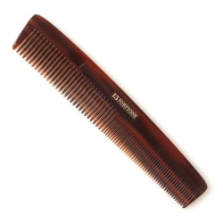 1541 London Dressing Hair Comb (Coarse/Fine Tooth)   Transparent