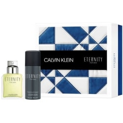 Giftset Calvin Klein Eternity Men Edt 100ml + Deodorant Spray 15 Blå