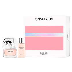 Giftset Calvin Klein Women Edp 50ml + Body Lotion 100ml    Rosa guld