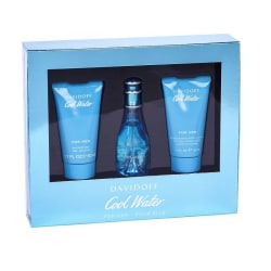 Giftset Davidoff Cool Water for Her Edt 30ml + Shower gel 50ml+  Blue