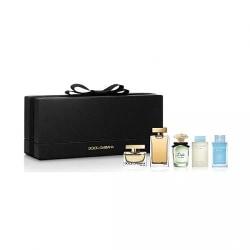 Giftset Dolce & Gabbana Mini Collection 5 Piece  Transparent