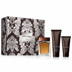 Giftset Dolce & Gabbana The One Edt 100ml + ASB 50ml + SG 50ml Transparent