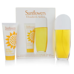 Giftset Elizabeth Arden Sunflowers Edt 100ml + Body Lotion Gul