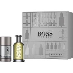 Giftset Hugo Boss Bottled Edt 50ml + Deostick 75ml grå