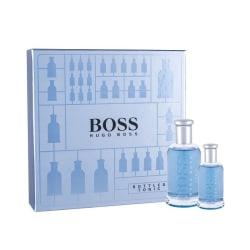 Giftset Hugo Boss Bottled Tonic Edt 100ml + 30ml Silvergrå