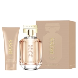 Giftset Hugo Boss The Scent for Her Edp 100 ml + Body Lotion 100 Pink