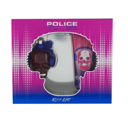 Giftset Police To Be Miss Beat Edp 40ml + Bodylotion 100ml Lila