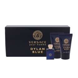 Giftset Versace Dylan Blue Edt 5ml Mini Set  Blå
