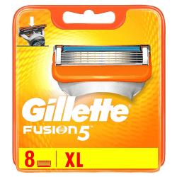 Gillette Fusion5 8-Pack Gul