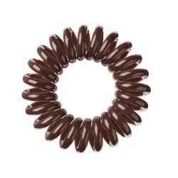 Invisibobble Hair Ring Brown 3-pack Transparent