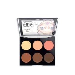Kokie Cream Contour Palette - Deep/Dark MultiColor