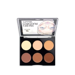 Kokie Cream Contour Palette - Light/Medium MultiColor