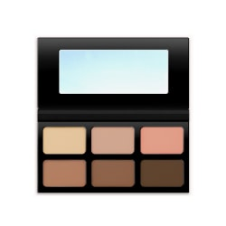 Kokie Powder Contour Palette Dark/Deep MultiColor