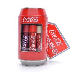 Lip Smacker Coca-Cola Classic Can Tin Box 6pcs Transparent