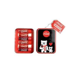 Lip Smacker Coca-Cola Tinbox 6pcs Transparent
