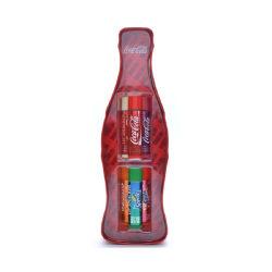 Lip Smacker Coca-Cola Vintage Bottle Tin Box 6pcs Transparent