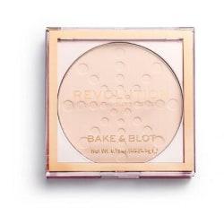 Makeup Revolution Bake & Blot Powder - Lace Gul