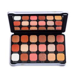 Makeup Revolution Forever Flawless Eyeshadow Palette - Decadent Beige