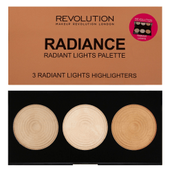 Makeup Revolution Highlighter Palette - Radiance Rosa guld
