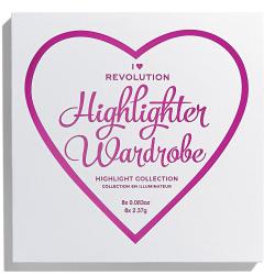 Makeup Revolution I Heart Revolution - Highlighter Wardrobe Transparent