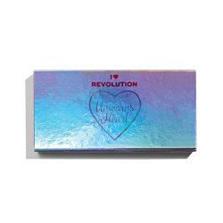 Makeup Revolution I Heart Revolution Unicorn Heart Palette Blå