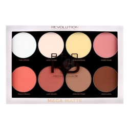 Makeup Revolution Pro HD Mega Matte Palette Transparent