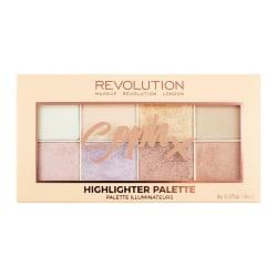 Makeup Revolution Soph X Highlighter Palette Transparent