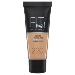 Maybelline Fit Me Matte + Poreless Foundation- 220 Natural Beige Transparent