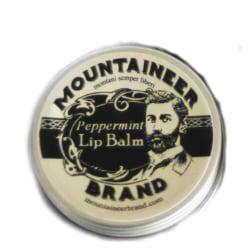 Mountaineer Brand Lip Balm Peppermint 15g Transparent