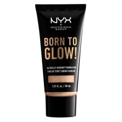 NYX Born To Glow Naturally Radiant Foundation 30ml - Vanilla Transparent