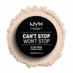 NYX PROF. MAKEUP Can't Stop Won't Stop Setting Powder -  Light Transparent