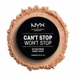 NYX PROF. MAKEUP Can't Stop Won't Stop Setting Powder - Medium Transparent