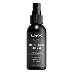 NYX PROF. MAKEUP Matte Finish Setting Spray Svart