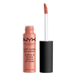 NYX PROF. MAKEUP Soft Matte Lip Cream Stockholm Transparent