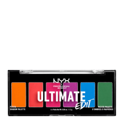 NYX PROF. MAKEUP Ultimate Shadow Palette Petit Edition - Brights Transparent