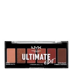 NYX PROF. MAKEUP Ultimate Shadow Palette Petit Edition -  Warm N Transparent