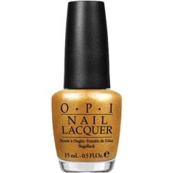 OPI Nail Lacquer - E78 OY-Another Polish Joke Guld