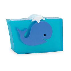 Primal Elements Bar Soap Blue Whale 170g Transparent