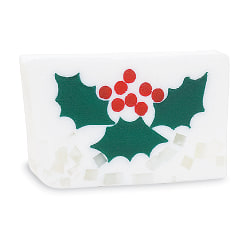 Primal Elements Bar Soap Holly Berry 170g Transparent