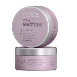 Revlon Style Masters 3 - Strong Matt Clay 85g Transparent